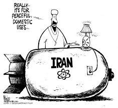 iran bomb cartoon