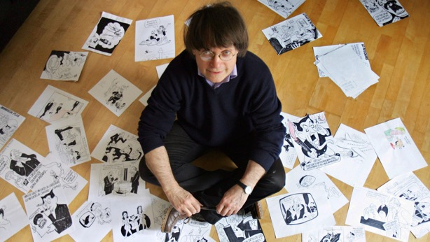 """Jeann Cabut, known as Cabu, was born Jan. 13, 1938, in Châlons-sur-Marne, a small town east of Paris, according to the Bibliotheque Centre Pompidou, a public library in Paris. """"I've been drawing for as long as I can remember,"""" Cabut said, according to the library's biographical sketch. He began his work at least as early as age 13, when he drew for his school paper and local daily paper, L'Union, for whom Cabut worked until 1961. Cabut served in the military in the 1950s during Algeria's fight for independence from France. The brutal conflict later fed his """"anti-militarism,"""" Cabut told the French magazine L'Edition du Soir. The artist would base one of his characters on an official he met during the war. After leaving Algeria, Cabut went on to draw for various publications, including the controversial and highly offensive French satirical magazine """"Hara Kiri""""—named after a Japanese form of suicide that involves plunging a knife into the stomach—from 1962 to 1972. From 1977 to 1987, he worked on the youth-oriented TV show """"Récré A2."""" Cabut helped to relaunch the Charlie Hebdo title with some friends in 1992, according to the library's biography of the artist, who continued work for a satirical publication called """"Le Canard enchaîné,"""" the chained duck. The French newspaper Le Monde said Cabut's death """"leaves a gaping void in the world of cartoonists"""" and that Cabu was """"one of the giants of the genre."""""""