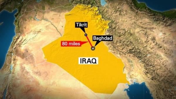 Iraq-Tikrit-map