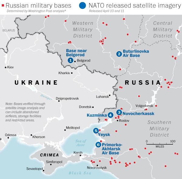 Russia building major military base near Ukrainian border – Ya Libnan