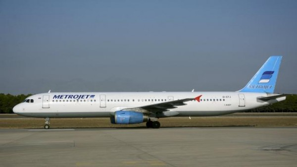 The Metrojet's Airbus A-321 with registration number EI-ETJ that crashed in Egypt's Sinai peninsula, is seen in this picture taken in Antalya, Turkey September 17, 2015. REUTERS/Kim Philipp Piskol