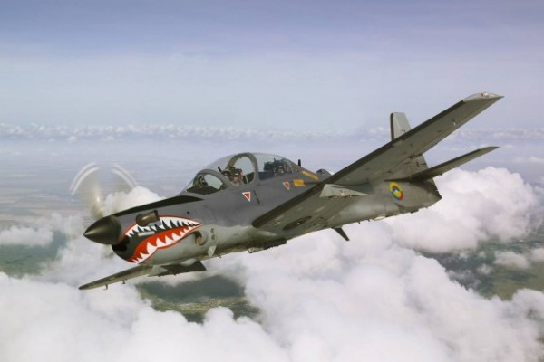 A-29 Super Tucano. Embraer Defense & Security said Lebanon would  acquiried six A-29 Super Tucano turboprop aircraft, a sale approved by the U.S. State Department in June 2015  and is being financed by  Saudi Arabia