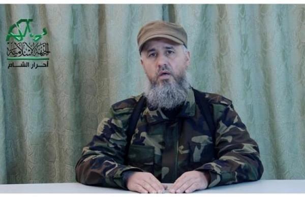 Ahrar al-Sham Islamist militia leader Hisham al-Sheikh