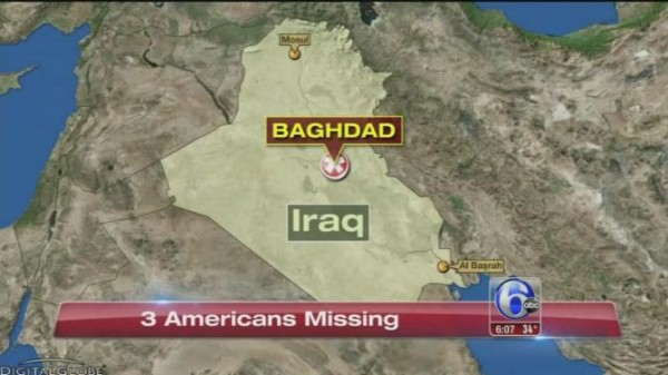 AMERICANS MISSING IN IRAQ