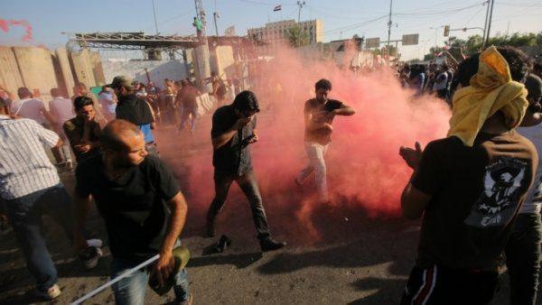 Moqtada al-Sadr  SUPPORTERS  FLEE