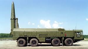 Russian Iskander-M missile launcher
