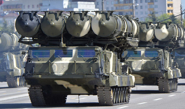 S300 missile system