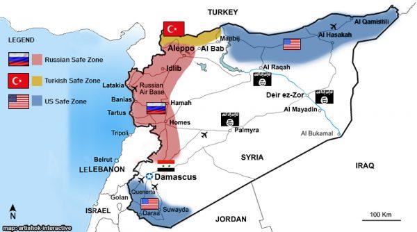 Syria Safe Zones 2