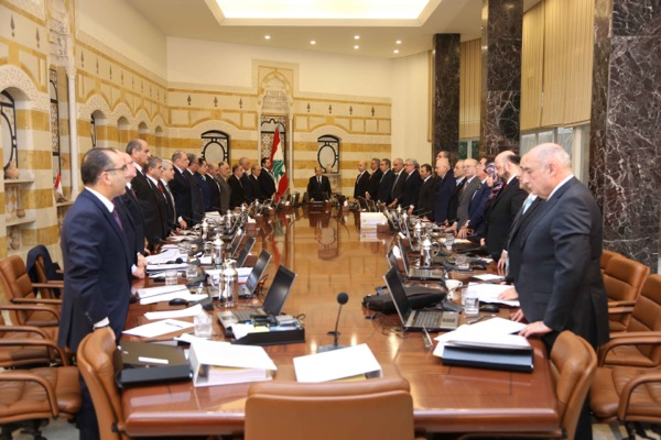 The cabinet  observed a moment of silence in honor of the victims of the Istanbul terror attack that killed 39 individuals, including three Lebanese, and wounded many.