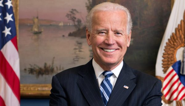 Official portrait of former Vice President Joe Biden in his ex West Wing Office at the White House, Jan. 10, 2013. (Official White House Photo by David Lienemann)