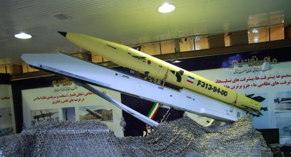Fateh-313  an Iranian solid-fuel short-range ballistic missile, was unveiled on 21 August 2015. The missile is a new generation of Fateh missiles family. The missile was almost identical to the previous generation of the Fateh-110 missile. The missile uses a new composite fuel and body that have increased the range to 500 km.  The main difference between this model and the previous model is the increase in range. Iran reportedly built a factory for Hezbollah in Lebanon to manufacture this missile and several others
