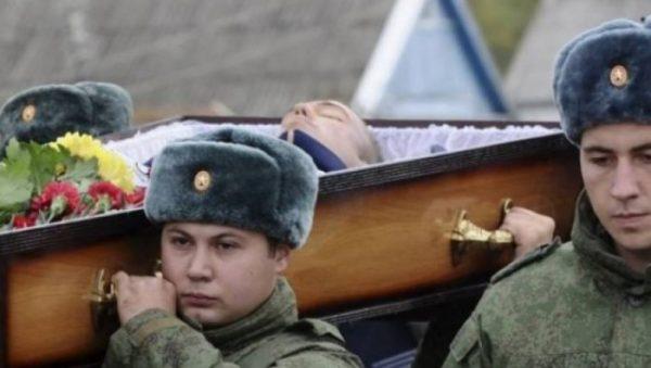Funeral of Lieutenant Colonel Alexei Buchelnikov who was killed in Syria