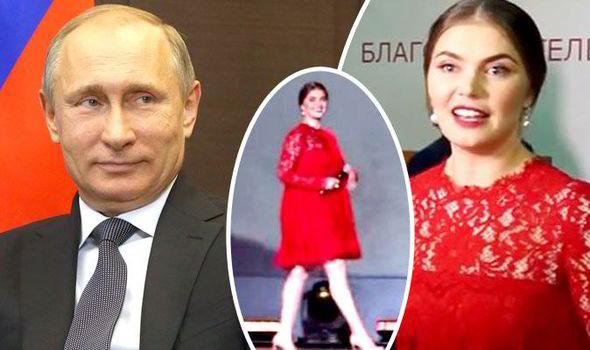 Vladimir Putin girlfriend Alina Kabaeva