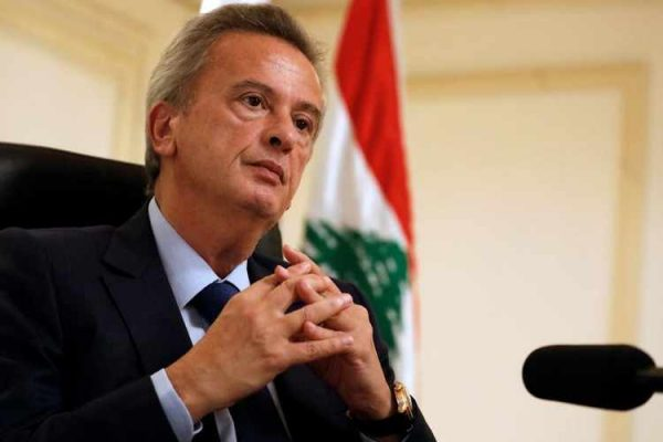 Lebanon's Central Bank Governor Riad Salameh speaks during an interview with Reuters at his office in Central Bank in Beirut, Lebanon October 24, 2017.REUTERS/Jamal Saidi - RC1D7B748890