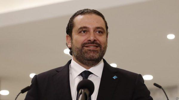 File photo:  Lebanese Prime Minister Saad Hariri
