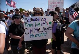 PROTEST AGAINST TRUMP IMMIGRATION POLICY