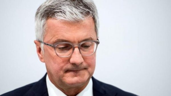 German authorities on Monday detained the chief executive of Volkswagen's Audi division, Rupert Stadler, as part of a probe into manipulation of emissions controls.