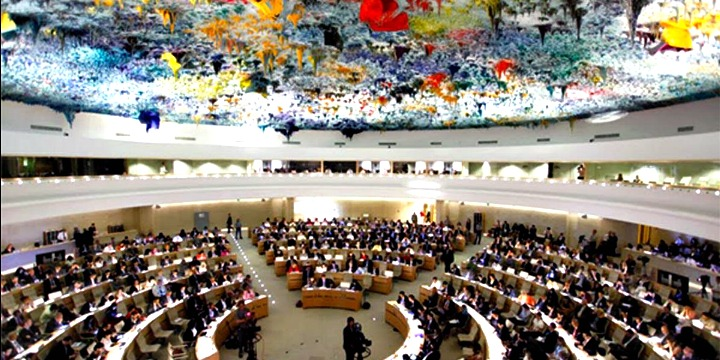 The UN Human Rights Council meets in Geneva. Photo: UN.
