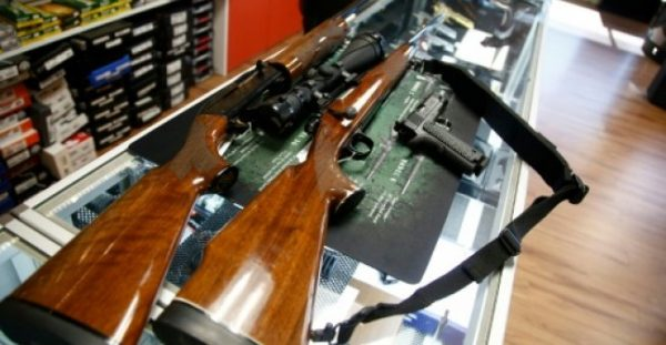 GETTY IMAGES NORTH AMERICA/AFP/File | Of the 857 million guns owned by civilians, 393 million are in the United States - more than all of the firearms held by ordinary citizens in the other top 25 countries combined