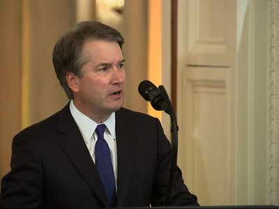 President Donald Trump nominated Judge Brett Kavanaugh on Monday to replace the retiring Anthony Kennedy on the US Supreme Court. The nomination has Republicans and Democrats drawing battle lines and preparing for a tough fight. (July 10)
