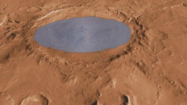 Underground Lake Found on Mars