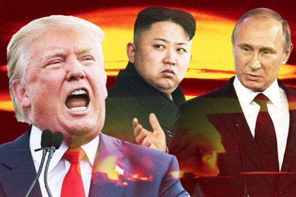 Trump-Kim-Putin