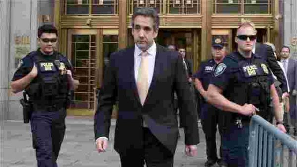 "President Donald Trump's former personal attorney Michael Cohen pleaded guilty to campaign finance and other charges. Deputy U.S. Attorney Robert Khuzami told reporters that Cohen thought ""he was above the law."" USA TODAY"