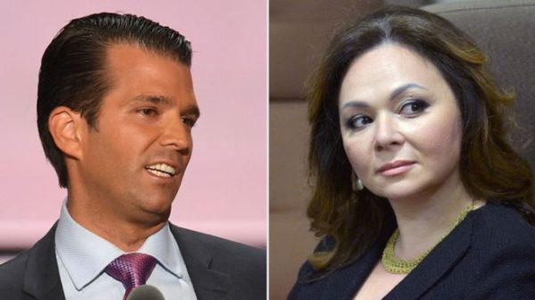 Controversy surrounds Donald Trump Jr's meeting with Natalia Veselnitskaya in June 2016
