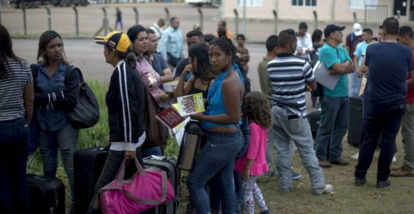 Starved Venezuelans looking for an escape from the socialist tyranny controlling their government have been fleeing in droves, challenging the immigration agencies of nations around the world.