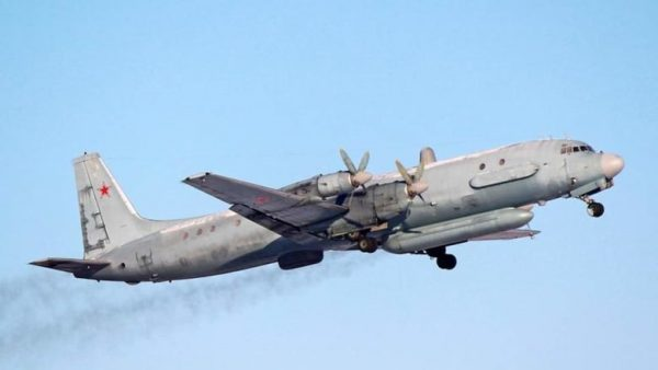 A Russian Air Force Ilyushin Il-20 plane