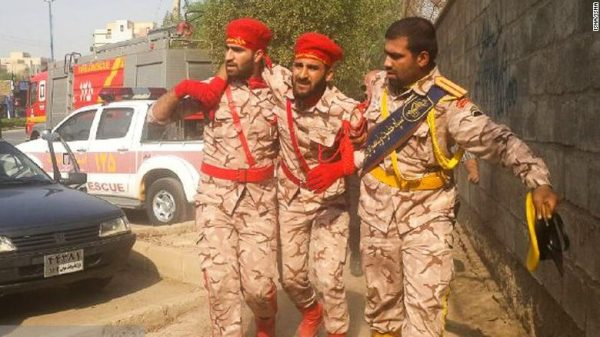 At least 25 people were killed and 60 others injured in an attack on a military parade in Iran's southwestern city of Ahvaz on Saturday