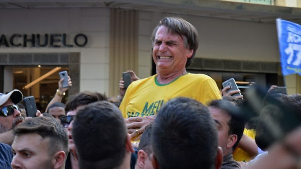 Brazil's right-wing presidential canidate  Jair Bolsonaro underwent emergency surgery on Thursday after he was attacked with a knife while campaigning in the countryside, officials said.