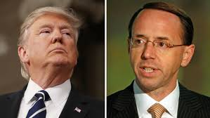 In the latest bombshell to rock the troubled administration, The New York Times and The Washington Post reported that Rod Rosenstein  (R) in May 2017 had suggested secretly recording Donald Trump for evidence of White House dysfunction -- and using that to formally remove him from power.