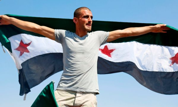 SYRIAN PROTESTER