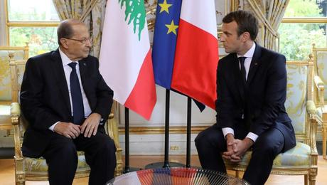 Aoun Tells French President Govt Formation Is A Lebanese Issue Ya Libnan