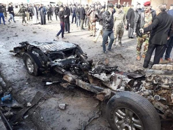 ISIS claimed responsibility for a car bomb attack in the northern Iraqi city of Tal Afar. The attack  killed two people and wounded 11, according to the Iraqi military.