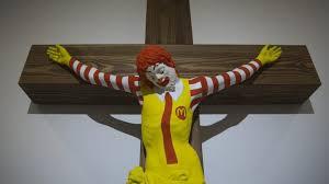 CRUCIFIED MACDONALED MACJESUS