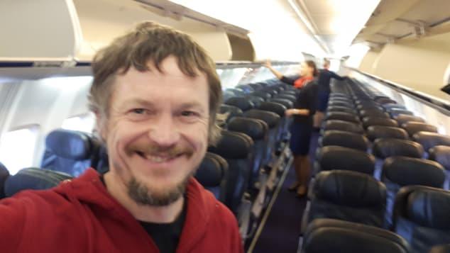 Lone passenger- Skirmantas Strimaitis selfie