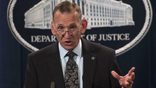 AFP | US Secret Service Director Randolph Alles gives a press conference in Washington on October 26, 2018.