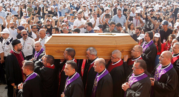 Funeral of Patriarch Sfeir