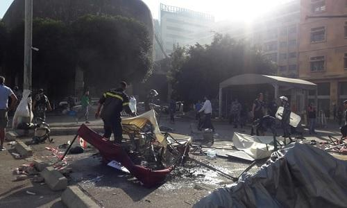 HEZBOLLAH ATTACKS PROTESTERS 2
