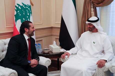 "PM Hariri on Monday announced that he was ""very optimistic"" regarding expected Emirati support for Lebanon, after he held talks with Abu Dhabi Crown Prince Sheikh Mohammed bin Zayed"