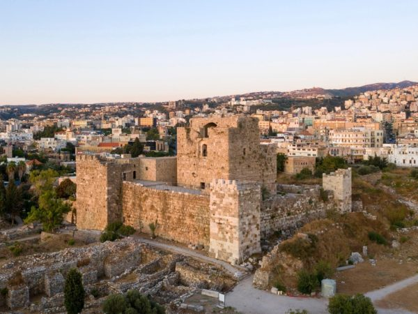 Byblos Castle: Was built by the Crusaders in the 12th century . The finished structure was surrounded by a moat. It belonged to the Genoese Embriaco family, whose members were the Lords of Gibelet. Saladin captured the town and castle in 1188 and partially dismantled the walls in 1190. Later, the Crusaders recaptured Byblos and rebuilt the fortifications of the castle in 1197. In 1369, the castle had to fend off an attack from Cypriot vessels from Famagusta.