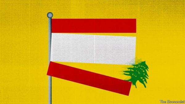 lebanese flag falling cedar tree
