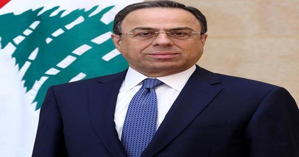 Lebanon  caretaker minister of economy Mansour Btaish