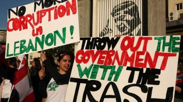 anti corruption protest in lebanon