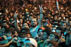 iraq celebrtaes victory over iran