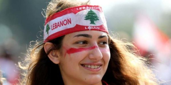 Lebanese students joined the uprising in Lebanon and are taking centre in anti Government protest stage