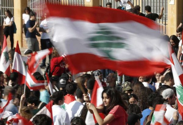 lebanese students protest 7