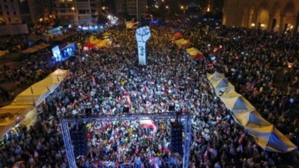 lebanon  protest nov 10